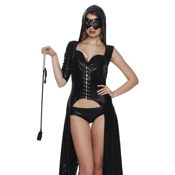 エナメルバラックのマーメイドドレス セクシーコスチューム 艶めかしい―9taitsu0055 1