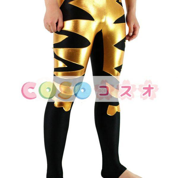 スパッツ コスチューム(金黒) レスリング―taitsu-tights1001 1