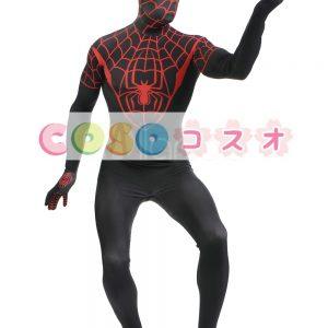 全身タイツ ブラック 大人用 ユニセックス スパイダーマン ―taitsu-tights1035