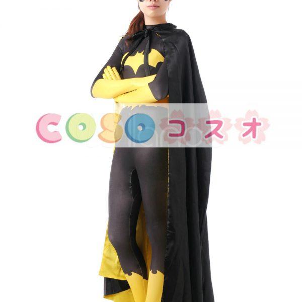 全身タイツ ブラック 大人用 ユニセックス バットマン ―taitsu-tights1088 1