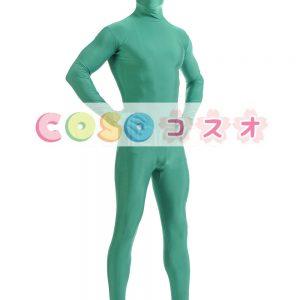 全身タイツ ライクラ・スパンデックス 大人用 グリーン ―taitsu-tights1214