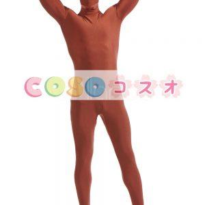 全身タイツ マホガニー ライクラ・スパンデックス 大人用 ―taitsu-tights1335