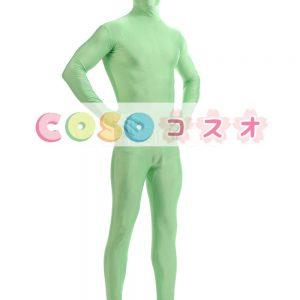 全身タイツ グリーン ライクラ・スパンデックス 大人用 ―taitsu-tights1481