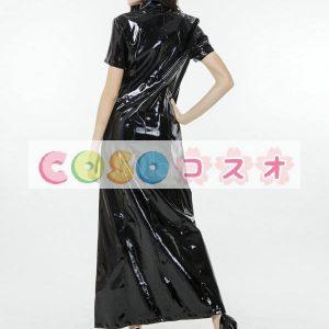 セクシータイツ ブラック ポリウレタン/PU 女性用 ―taitsu-tights1542