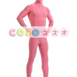 全身タイツ ピンク ライクラ・スパンデックス 大人用 ―taitsu-tights0229