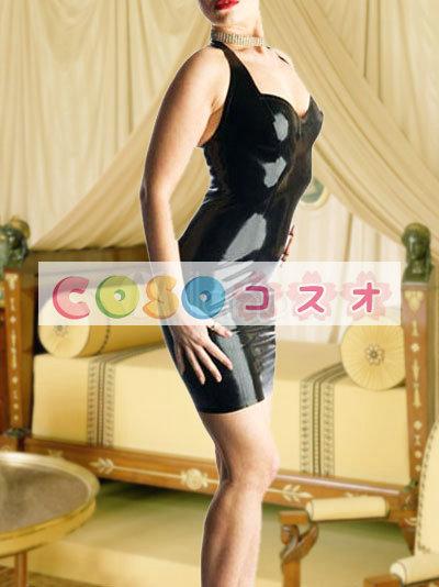 コスチューム衣装 ワンピース ブラック オーダーメイド可能 セクシー―taitsu-tights0425 1