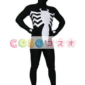 全身タイツ スパイダーマン風 開口部のない 変装コスチューム―taitsu-tights0484