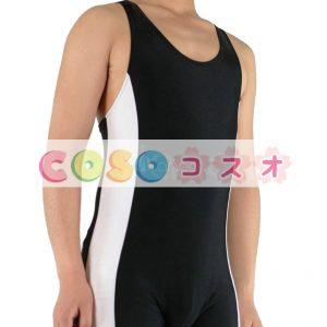 全身タイツ キャットスーツ 男性用 コスチューム レスリング―taitsu-tights0677