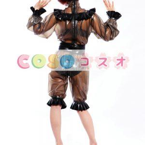 全身タイツ,ラテックス 女性用 コスプレ コスチューム ブラック 仮装パーティー―taitsu-tights0078