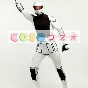 全身タイツ,ユニセックス 大人用 スーパーヒーロー カラーブロック 開口部のない全身タイツ 仮装コスチューム ―taitsu-tights0295