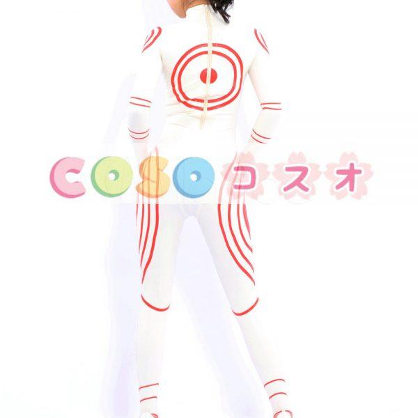 コスチューム衣装 全身タイツ メタリック ホワイト 新作 レオタード ジャンプスーツ 大人用 女性用 ―taitsu-tights0364 1