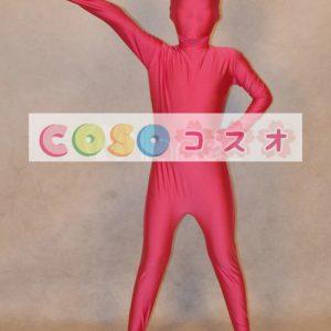 全身タイツ,フクシア 単色 子供用 変装コスチューム 開口部のない全身タイツ ユニセックス ―taitsu-tights0414