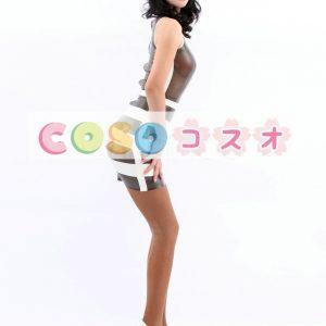 コスチューム衣装 ワンピース ラテックス マルチカラー 大人用 女性用 ―taitsu-tights0590