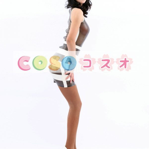 コスチューム衣装 ワンピース ラテックス マルチカラー 大人用 女性用 ―taitsu-tights0590 1