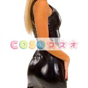 全身タイツ,メタリック ブラック セクシー 女性用 大人用 コスチューム ドレス ―taitsu-tights0620