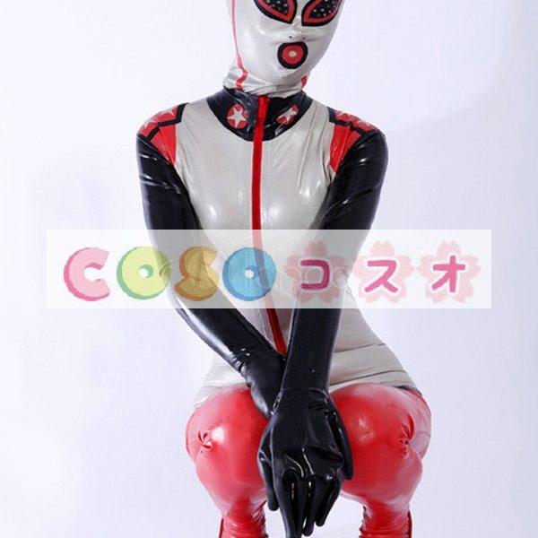 ラテックスキャットスーツ,ユニセックス 大人用 コスチューム 変装パーティー―taitsu-tights0688 1