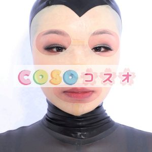 全身タイツアクセサリー,マスク 目と口が開いている 肌色 仮装コスチューム コスプレ―taitsu-tights0741