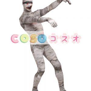 全身タイツ 大人用 ユニセックス 怖い 開口部のない全身タイツ 変装コスチューム カラーブロック ―taitsu-tights0814