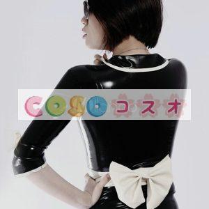 セクシーなマルチ カラー ユニセックスのユニークなラテックス トップを形成―taitsu-tights0846