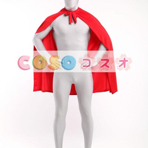 コスチュームアクセサリー ポンチョ マント 大人用 レッド ハロウィン コスプレ―taitsu-tights0975 1