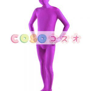全身タイツ ピンク 単色 開口部のない全身タイツ 大人用 変装コスチューム ユニセックス  ―taitsu-tights1143