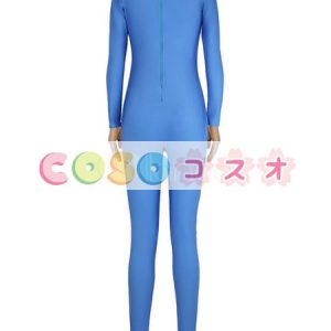 ライクラタイツ ブルー ノベルティ ライクラ・スパンデックス 大人用 女性用 ―taitsu-tights1561