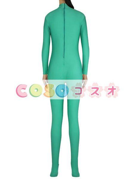 ライクラタイツ グリーン ライクラ・スパンデックス ノベルティ 女性用 大人用 ―taitsu-tights1568 1