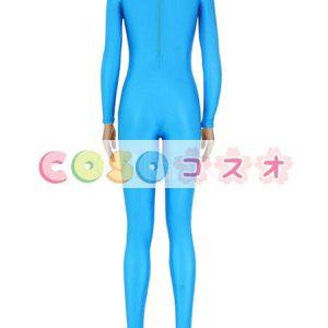 ライクラタイツ ブルー ノベルティ ライクラ・スパンデックス 大人用 女性用 ―taitsu-tights1581