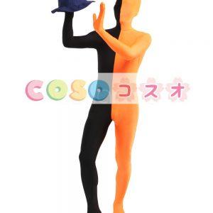 全身タイツ,コットン+スパンデックス カラーブロック パッチワーク ユニセックス―taitsu-tights1074