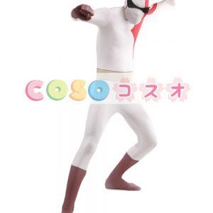 全身タイツ,ゲームキャラクター ユニセックス カラーブロック 開口部のない全身タイツ 仮装コスチューム ―taitsu-tights1311