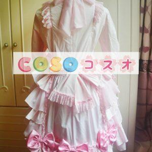 ロリィタワンピース 長袖 姫袖 リボン レース スウィート プリンセス ―Lolita0047