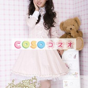 純粋な綿パフ長袖ロリータ ドレス ―Lolita0230