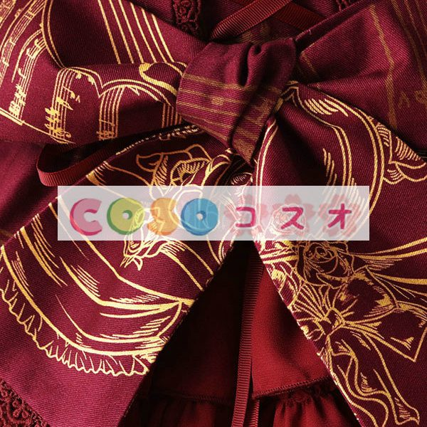 Liebesgruss 花柄プリント ジャンパー スカート スカート ―Lolita0303 1