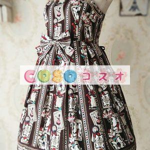 ロリータ服 可愛い コットン パーティー 人気  ―Lolita0805