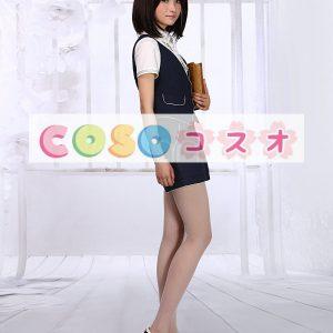 ロリータ服,3点セット ブラウス&チョッキ&サスペンダーパンツ ショート丈 新作 高品質 ―Lolita0868