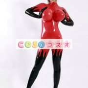 コスチューム衣装,ラテックスキャットスーツ 大人用 ボディースーツ ハロウィン―festival-0002