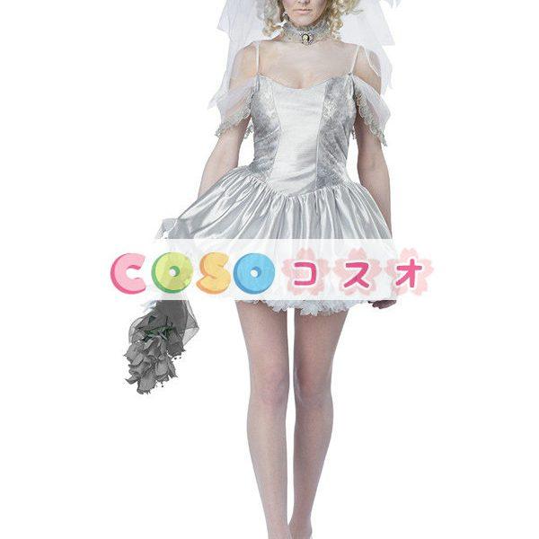 ハロウィン 新作 コスチューム 女性用 ホワイト―festival-0006 1