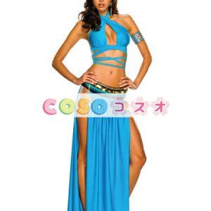 ハロウィングッズ ブルー 女性用 エジプト 大人用 合成繊維 ハロウィーン ―festival-0157