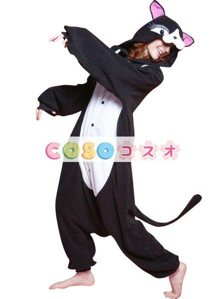 ハッピーハロウィン 猫 着ぐるみ コスチューム―festival-0073 1