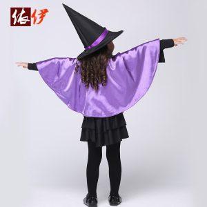 ハロウィンコスプレ 仮装コスチューム魔女 魔法使いコスチューム セット/仮装コスチューム コスプレ ・ハロウィン・女の子 キッズ 子供用-halloween-trz0725-0020