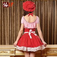 コスチューム衣装 メイド ハロウィン セクシー メイド 大人用 女性用 インドア ブラック-halloween-trz0725-0058