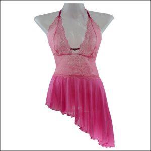セクシーランジェリー ドレス 透かし彫り 単色 バックレス 女性用 セクシー -halloween-trz0725-0116