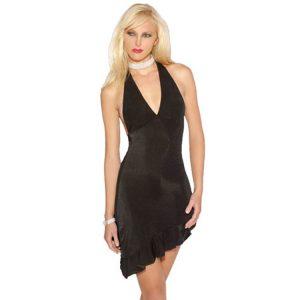 クラブドレス ストラップレスネック ノースリーブ ポリエステル -halloween-trz0725-0168