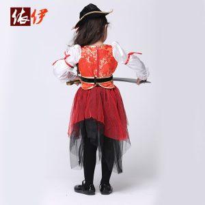 ハロウィン衣装 キッズ ハロウィンコスチューム ジュニア ハロウィン仮装 ハロウィーン クリスマスハロウィン 衣装 子供 女の子 コスプレ 海賊 コスチューム 子供用 -halloween-trz0725-0319