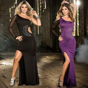 パーティードレス 2色の セクシー ドレスダ イヤモンドドレス-halloween-trz0725-0378