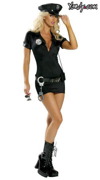 Traffic Cop Costume 制服 警官 警察 女性 コスプレ-Halloween-trw0725-0007 1
