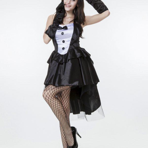 コスプレ 燕尾 バニーガール ウサギ うさ耳  ハロウィン メイド服-Halloween-trw0725-0029 1