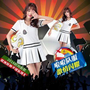 AOA ダンス衣装 コスプレ衣装 舞台衣装 チアガール ユニフォーム 応援団 制服-Halloween-trw0725-0060