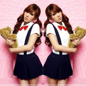 コスプレ セーラー服 制服 女子高生 学生服コスチューム 半袖 ハロウィン 衣装 -Halloween-trw0725-0064