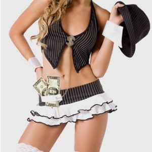 disfraz gangster ナイトクラブ コスプレ セーラー服 制服 女子高生 学生服-Halloween-trw0725-0065